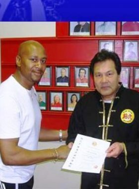 Sifu Derek with Dai Sifu Pier Tsui Po.